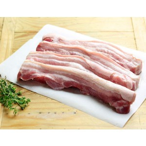 西班牙杜洛克黑毛豬腩肉