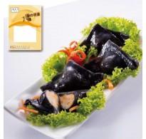 墨汁芝士魚餃